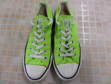 CONVERSE ALL STAR OX STYLE EU 37.5 UK 5 NEON GREEN GOOD SKU AB766