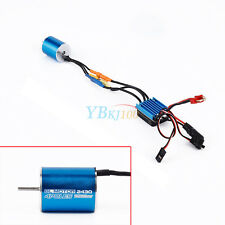 2430 7200KV 4P Sensorless Brushless Motor 25A Brushless ESC for RC 1/18 Car Boat