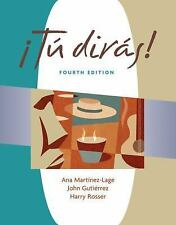 Tu diras (with Audio CD) (Tu diras) (World Languages)