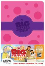 The Big Picture Interactive Bible for Kids, Purple/Pink Polka Dot LeatherTouch..
