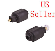 1pcs Optical 3.5mm Female Mini Jack Plug To Digital Toslink M Audio Adapter