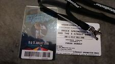 COLLECTOR Billet Place Ticket Bruce Springsteen... au nom de Bruce Springsteen !