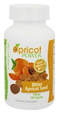 Apricot Power Bitter Seed Capsules 500 mg - 180 caps B17 Source