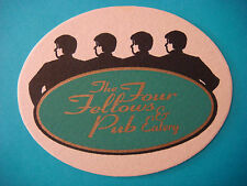 Beer Bar Drink Coaster ~ The FOUR FELLOWS PUB & EATERY ~ Hudson, OHIO ** CLOSED
