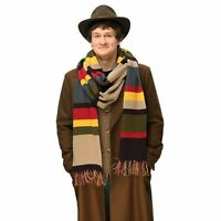 Doctor Who Scarf 4th doctor Deluxe Striped Scarf Tom Baker costume