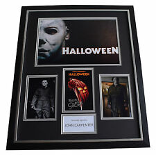 John Carpenter SIGNED Framed Photo Autograph Huge display Halloween AFTAL & COA