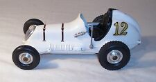 RAY COX THIMBLE DROME CHAMPION TETHER CAR 1960s IN WHITE SHARP! 1950s