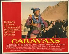 "Caravans Original 11 x 14"" Lobby Card 1978 Anthony Quinn"