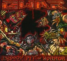 Bloody Pit of Horror [Digipak] by GWAR (CD, Nov-2010, Metal Blade)