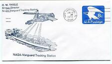 1973 NASA Vanguard Tracking Station O. Thiele Satellite Cape Canaveral USA Space