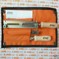 "OEM Stihl MS362 Chainsaw Chain Filing Sharpening Kit 3/8"" 5.2mm 13/64"" Tracked"
