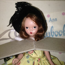 Nancy Ann Storybook Plastic Painted Eye Saturday's Child   # 185  with Box & Tag