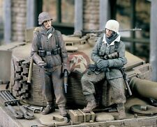 "Verlinden 1/35 ""Tank Riders I"" German Tank Desant WWII (2 Figures) [Resin] 1428"