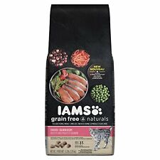 IAMS Grain Free Naturals Chicken and Salmon Recipe Dry Cat Food 4.3 Pounds
