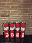 FIRE EXTINGUISHER 10lb ABC NEW CERT TAG LOT OF 4 NICE