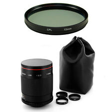 Albinar 500mm Mirror Lens for Canon EOS 5D 7D 60D 50D 30D 10D 1D 1Ds Rebel SL1