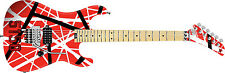 Brand New EVH Stripe Series 5150 Red, Black & White Guitar NAMM 2017 Pre-Order