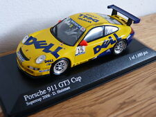 Porsche 911 997 GT3 Cup Supercup 2006 Huisman DELL Minichamps Model car 1:43