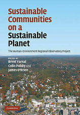 Sustainable Communities on a Sustainable Planet: The Human-Environment Regional