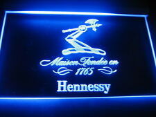 W3801 B  Hennessy XO 1765 Bar Pub Club LED Light Sign