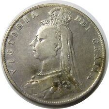 elf  Great Britain Half Crown 1891 Victoria