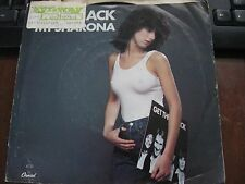 """THE KNACK  MY SHARONA 7"""" 45 rpm Vinyl record + PICTURE SLEEVE VG+++ CLEAN"""