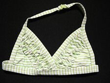 Girl's 3-6 Months GYMBOREE Love Is In The Air Striped Halter Bikini Swim Top EUC