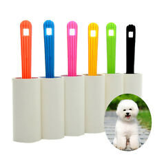 Pet Dog Cat Lint Hair Clothes Sticky Dust Dandruff Roller Brush Remover