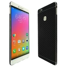 Skinomi Black Carbon Fiber Skin+Clear Screen Protector for Huawei Honor Note 8