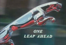 "JAGUAR FACTORY TOUR 1961 DVD ""ONE LEAP AHEAD"" Jaguar Mark 2"