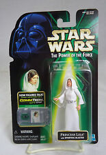 Star Wars Power Of The Force Princess Leia w/Sporting Blaster (Unopened)