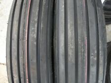 TWO 600x16,6.00-16 Rib Implement Farm Tractor Tires  DISC, Do-All 6 ply