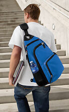 BACKPACK Blue Single Mono Strap Sling Backpacks Crossbody COMFORTABLE STRONG BAG