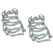 Set of 2 Snow Mud Tractor Tire Chains 26 X 12 X 12, 2 Link