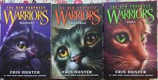 Lot of 3 Warriors New Prophecy: #1, 2 & 3 by Erin Hunter NEW Paperback