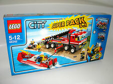 Lego ® City 66342 super pack 3in1 7213 7942 7241 Fire Truck nuevo New misb NRFB