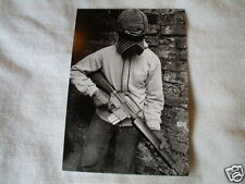IRISH REPUBLICAN IRA VOLUNTEER ON ASU EARLY SEVENTIES BELFAST POST CARD
