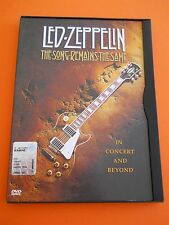DVD MUSICA LED ZEPPELIN The Song Remains The Same