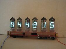 Alarm Clock VFD IV11 (Nixie era tubes) Monjibox Assembled kit v2