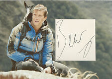 BEAR GRYLLS Signed 12X8 Photo Display SURVIVAL EXPLORER COA