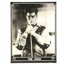 TOM CRUISE In The Colour Of Money - Black and White POSTER Print