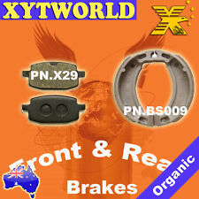 FRONT REAR Brake Pads Shoes for Yamaha CR-Z 50 (3WN) 1991-1995