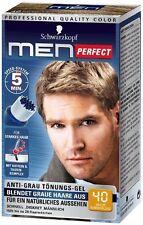 Schwarzkopf Men Perfect - For Men - Gentle Hair Color Gel - Dark Blond 40