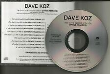 DAVE KOZ This Guys in love with you DANCE REMIXES & INSTRUMENTAL PROMO CD Single