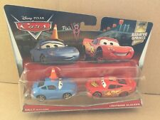DISNEY CARS DIECAST - Sally With Cone & Lightning McQueen - 2017 Release