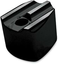 Covington s Finned Gloss Black Powdercoat Ignition Switch Cover for C1246-B
