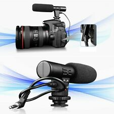 Professional 3.5mm Studio Digital Video Stereo Recording Microphones For Camera