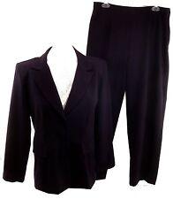 Danny & Nicole Women's Petite Size 14P Pant Suit Purple Blazer Career Washable
