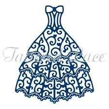 Tattered Lace Oscar Gown Die D1016 ~ Homecoming Dance *FAST Free Shipping/USA!**