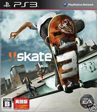 Used PS3 Skate 3 SONY PLAYSTATION 3 JAPAN JAPANESE IMPORT